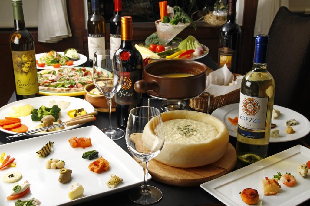 感動チーズと農園の新鮮野菜を使用した創作イタリアン「AGILE」