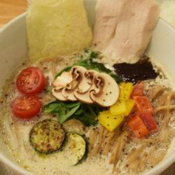 ソラのキノコベジ白湯(パイタン)麺』 10月11日(火)~11月10日(木)まで期間限定販売