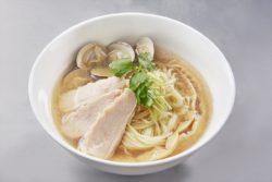 お湯で割るだけで簡単!一発型ラーメンスープ 「麺活 塩ラーメンスープ貝」 「麺活 醤油ラーメンスープ ...