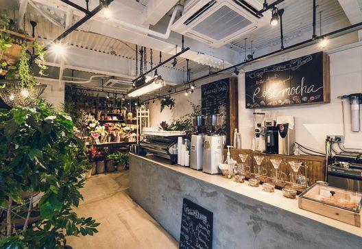 恵比寿駅 徒歩1分!花屋×カフェ『essence cafe』4/17OPEN  女性バリスタが本格カフェメニューを提供  ...