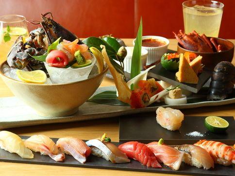 渋谷で話題の「KINKA sushi bar izakaya」 リニューアルオープン! メニューも営業時間も大幅にグレー ...