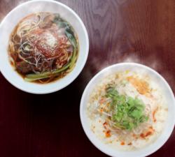 春水堂から台湾のローカルヌードル2種が新登場! ふるふる豆乳の『豆漿(トウジャン)鶏湯麺』と 『麻辣 ...