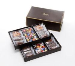 リンツ、贈り物に喜ばれる焼き菓子ギフトボックスが新登場  人気チョコレート「リンドール」との組み ...