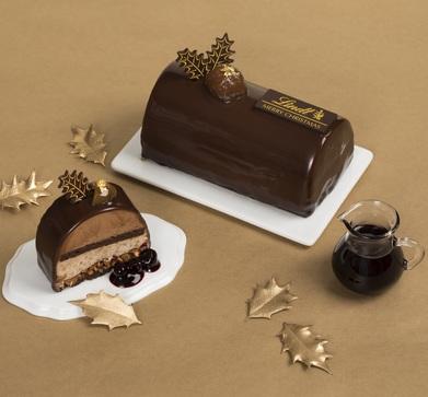 リンツのクリスマスケーキ「ショコラ マロン」  11月1日に店頭・オンラインショップでホールケーキの ...